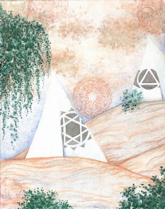 Pyramids - Lady Luna Star