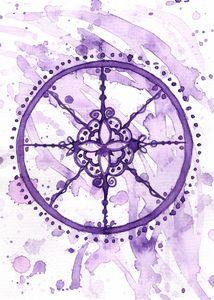 Lavender Seal