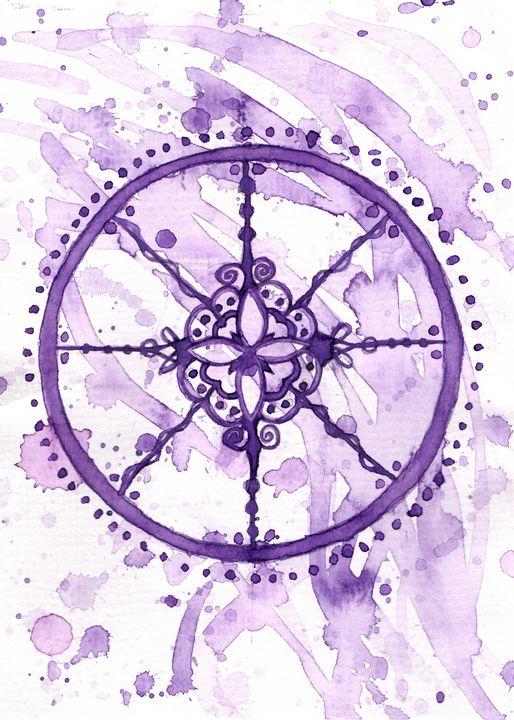 Lavender Seal - Lady Luna Star