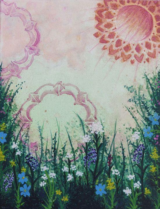 Blossoming Fields - Lady Luna Star