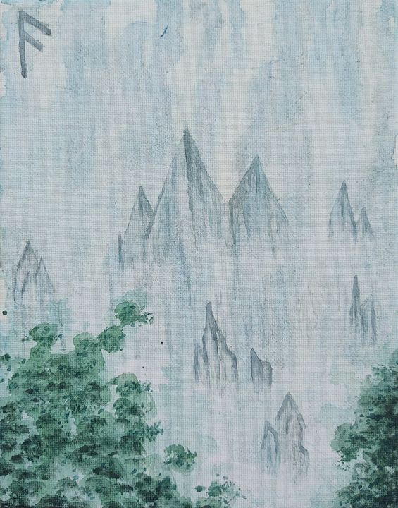 Misty Mountains - Lady Luna Star
