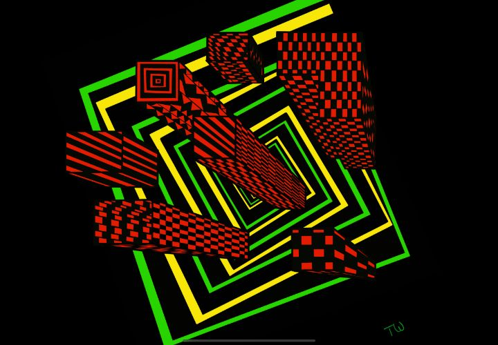 Illusion Fun! - Art by Theresa