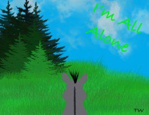Donkey - Art by Theresa