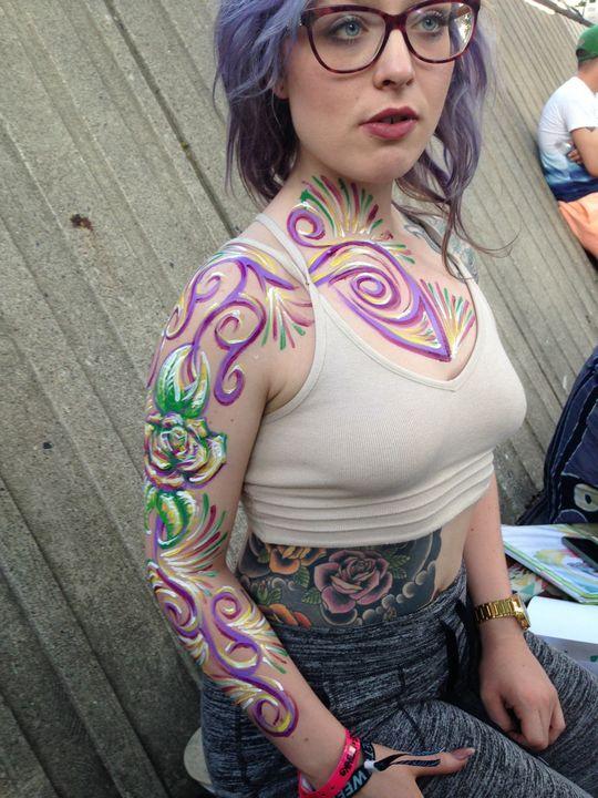Body Worx Violets - Kustom Artistic Creations