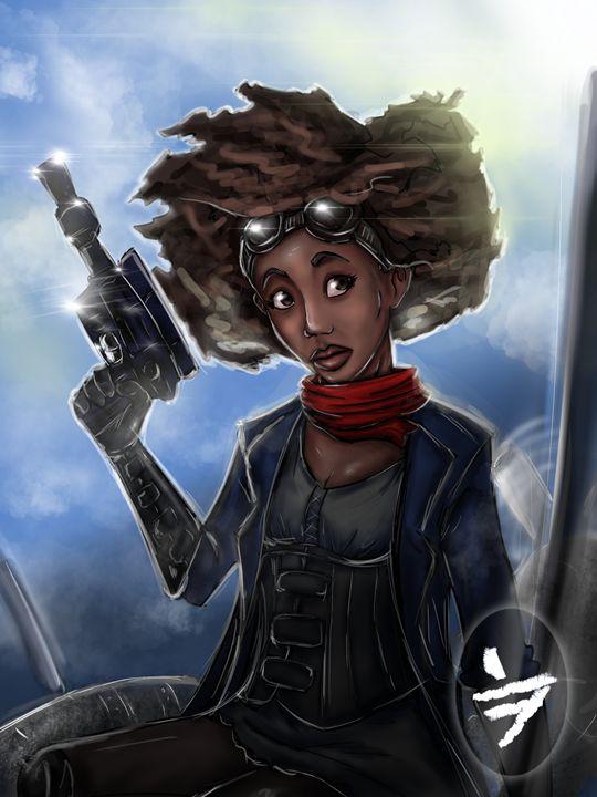 Huntress of the sky bounty. - Freddy Molina Miranda