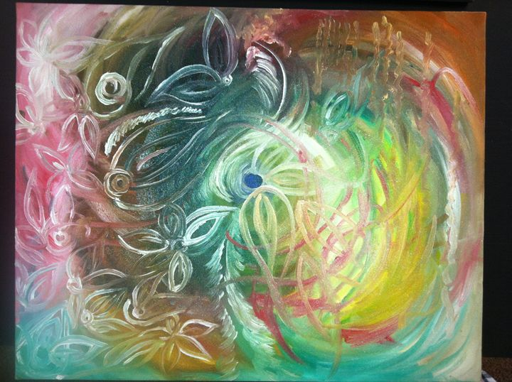 Whirlpool of Nature - Oil Painting