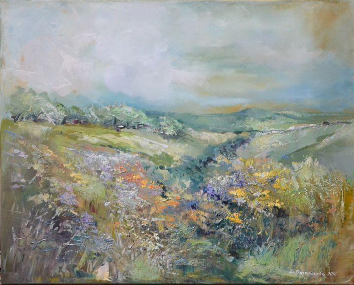Villages - Dana Oil Art