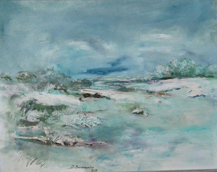 Winter - Dana Oil Art