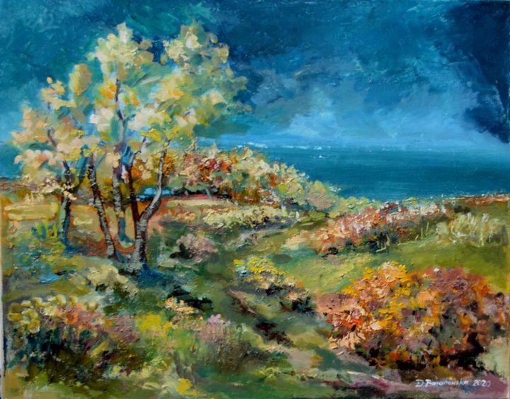 Autumn - Dana Oil Art