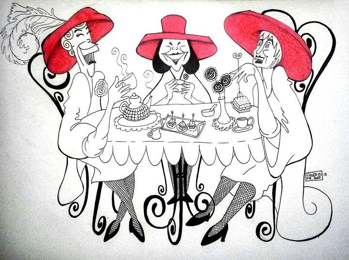 """""""The Red Hat Ladies"""" - Caleb Kromer"""