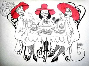 """The Red Hat Ladies"""