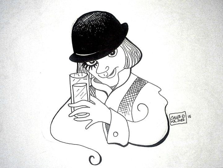 """A Clockwork Orange"" - Caleb Kromer"