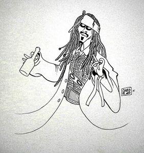 """Captain Jack Sparrow"""