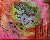 Mixed Media Abstract on Canvas