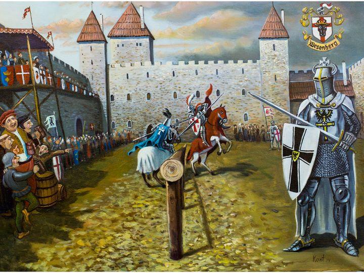 Knight fights - Eduard Kont
