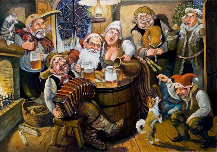 Christmas party - Eduard Kont