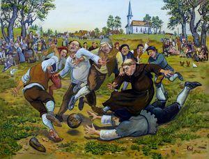 Medieval football (Jõhvi)