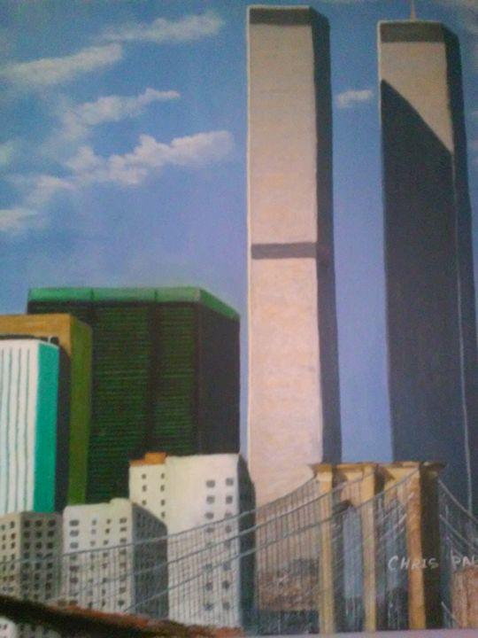 world Trade Center Brooklyn Bridge - Cristobal pabon art gallery