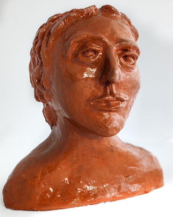 Woman portrait - Rossana Leonardi Sculpture
