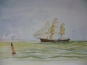 "The ""Erebus"" off Maidenhead"