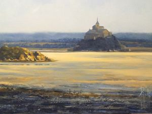 Mont Saint-Michel, Normandie