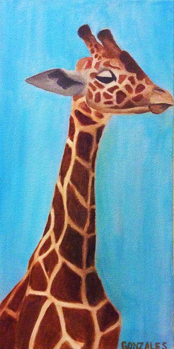 Giraffe - Victoria's Art