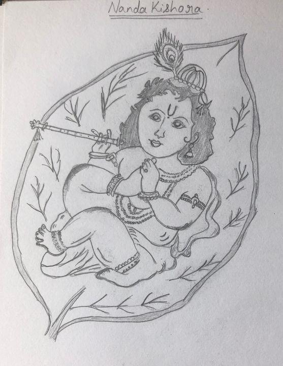 Nanda Kishora - Roopa's Pencil Sketches