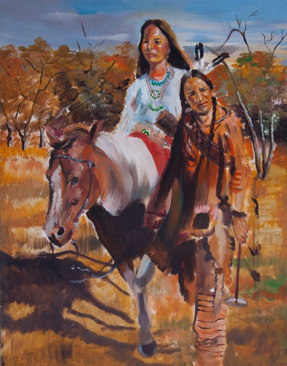 Native Americans - Shervin Arts