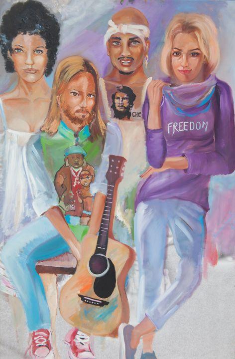 Race Equality - Shervin Arts