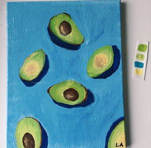"""avocados & the shadow"