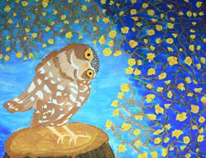 Above Ground Owl