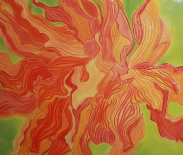 Tangerine Floater - Coelina