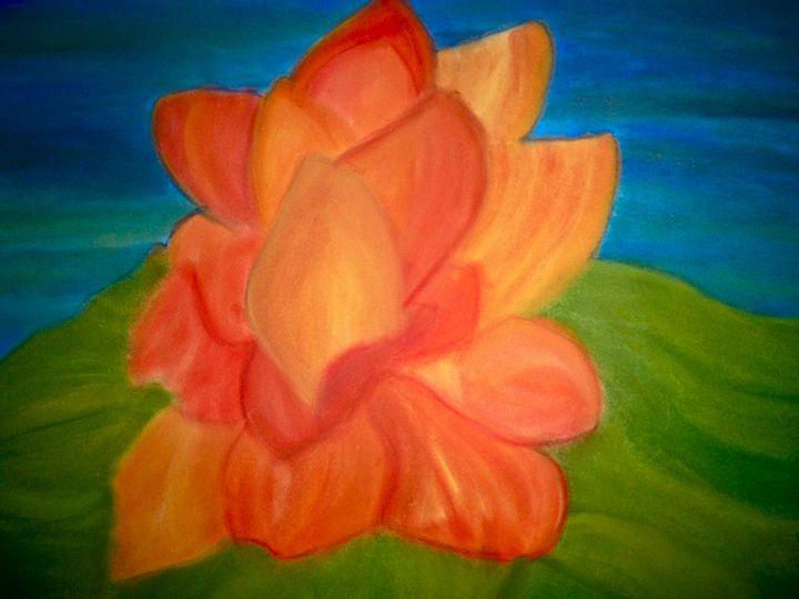 Orange Lotus - Coelina