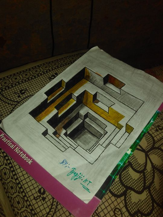 Awesome 3d hole - Kuldeep