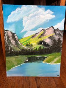 Original Oil Painting Scenery