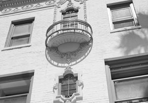 White Vintage Balcony