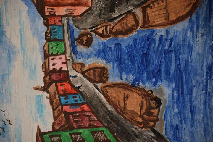 Art by 4th grader - Dsibsworld
