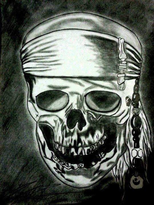 Pirate Skull - Eduardo's Art