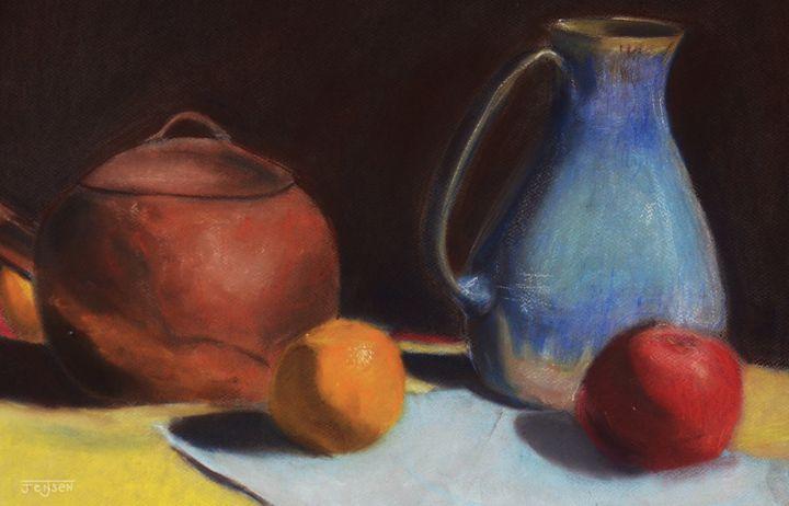 Pastel Still Life - Julia Jensen