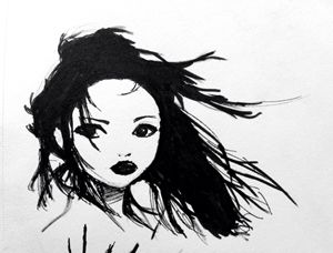 Geisha in the Wind