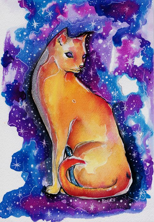 Galaxy cat - Roro
