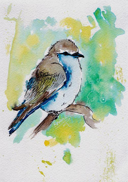 blue bird - Roro