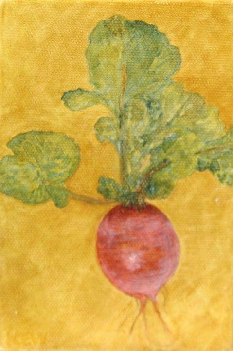 red radish - Kate Walter