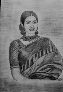 Shri Devi sketch