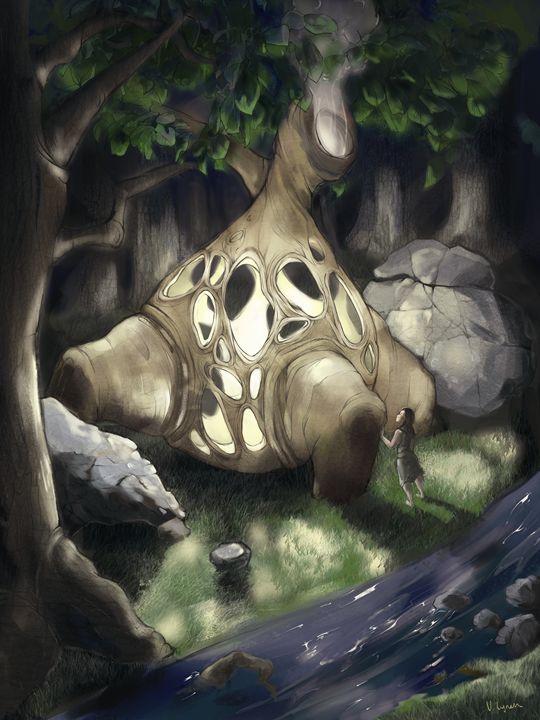 Tree Soul - Veronica Lynch Illustration