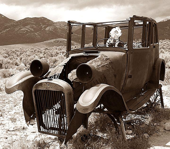 Dead transportation - Old Door Photography