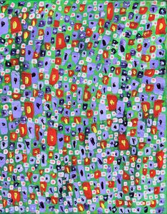 red flowers - Cherrybomb Art