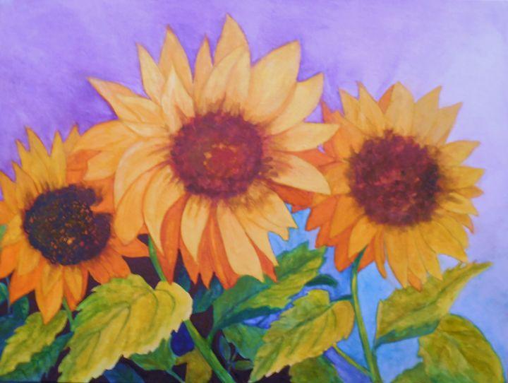 Sun worshipping - K.D. Robbins fine art