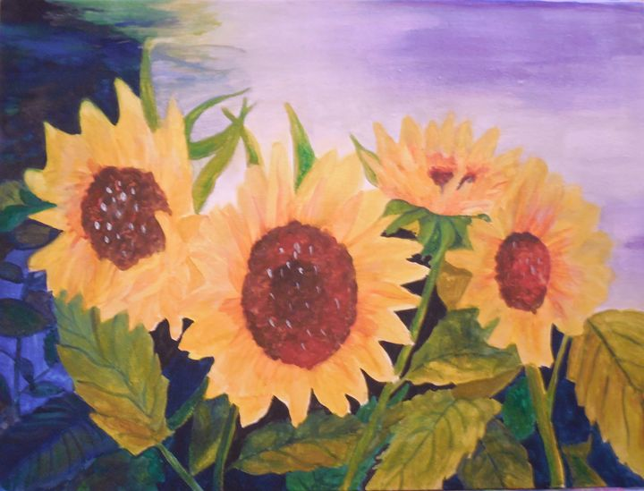Sunflowers - K.D. Robbins fine art