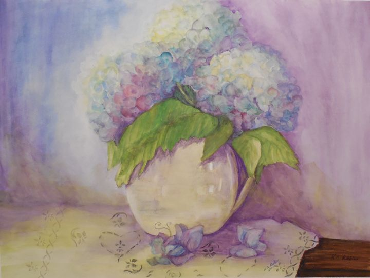 Reflections of Summer - K.D. Robbins fine art